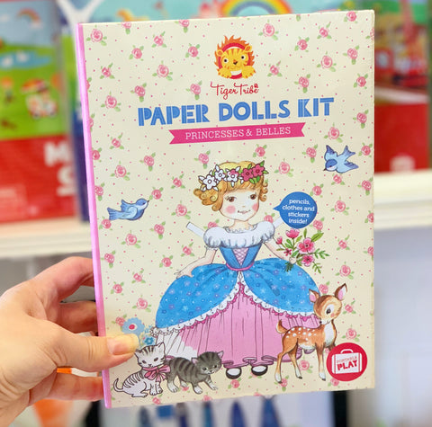 Paper Dolls Kit - Princesses & Belles