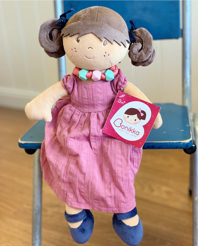 Mandy Brown Hair Rag Doll