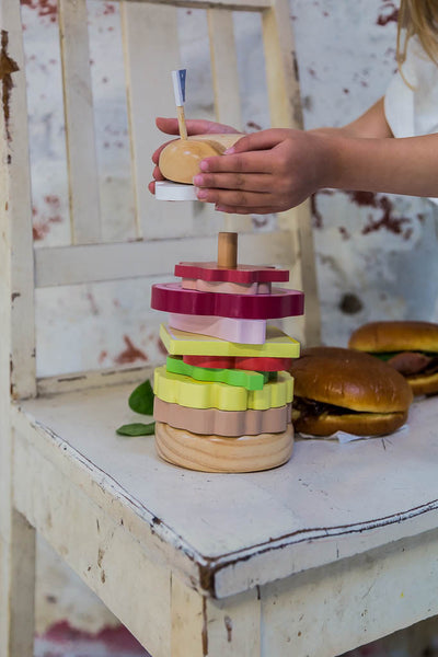 Toy Stacking - Hamburger