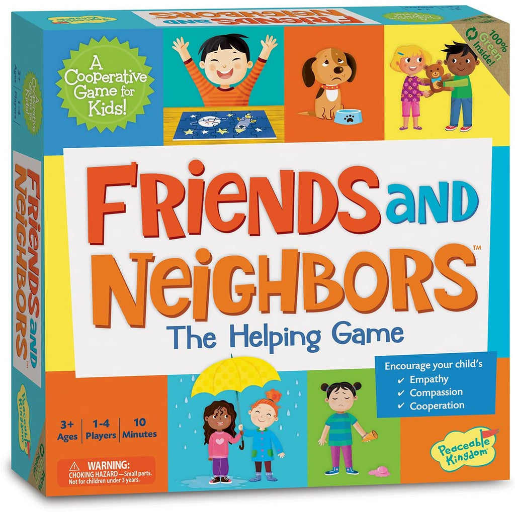 Friends & Neighbours - A Coopoerative Game