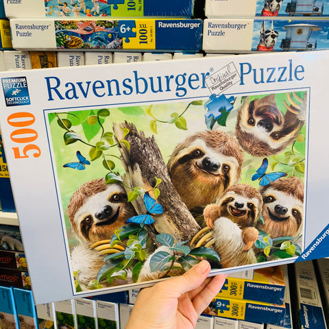 Sloth Selfie Puzzle 500pc