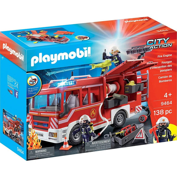 Playmobil City Action Fire Engine 9464