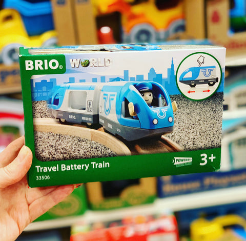 BRIO - Travel Battery Train, 3 pieces