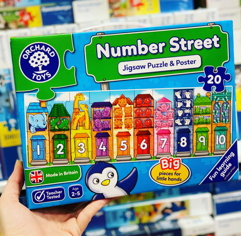 Orchard Toys - Number Street Puzzle