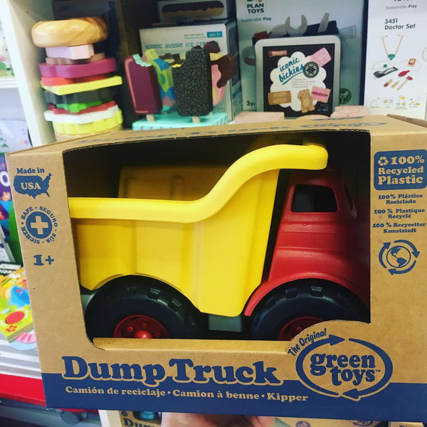 Green Toys - Dump Truck - Red