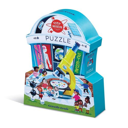 Day at the Museum Puzzle 48 pc- Science