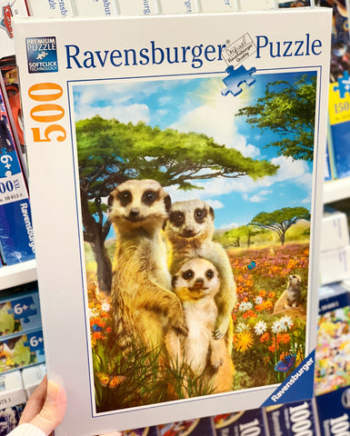 Ravensburger - Happy Meerkats Puzzle 500pc