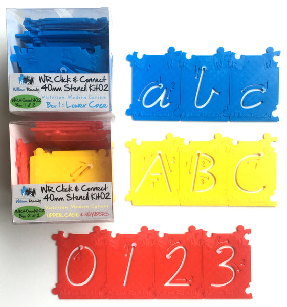 40mm Stencil Kit (72 pcs)