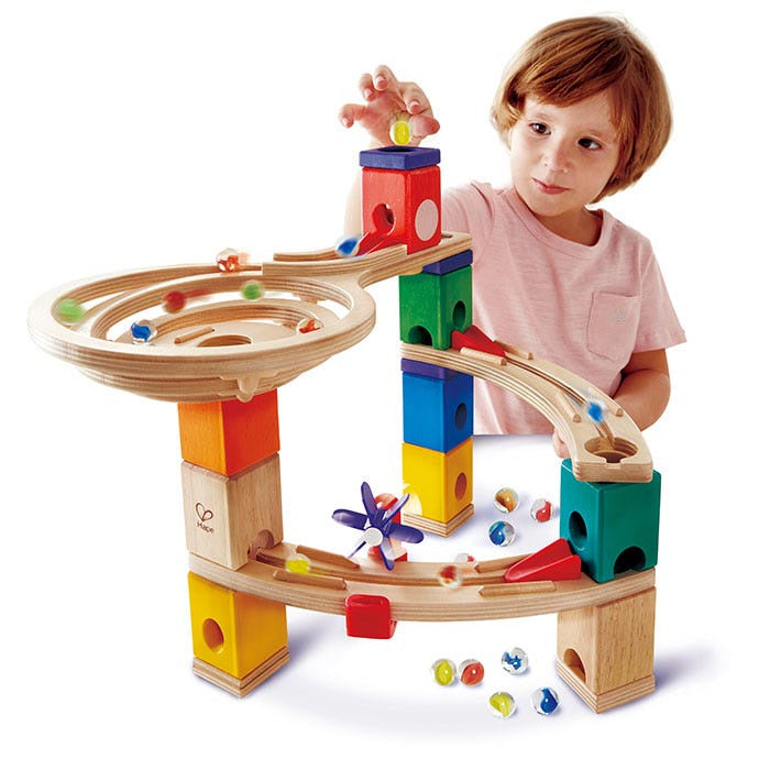 Hape Quadrilla® Race to the Finish 57 Pieces
