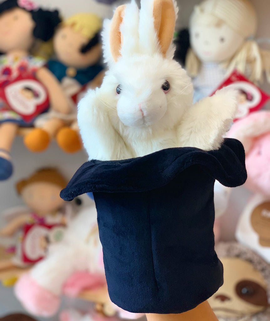 Rabbit in the Hat Puppet