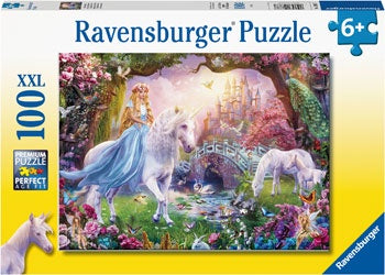 Ravensburger - Magical Unicorn 100pc  Puzzle