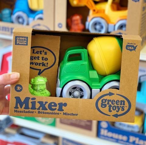 Green Toys – Construction Mixer Truck