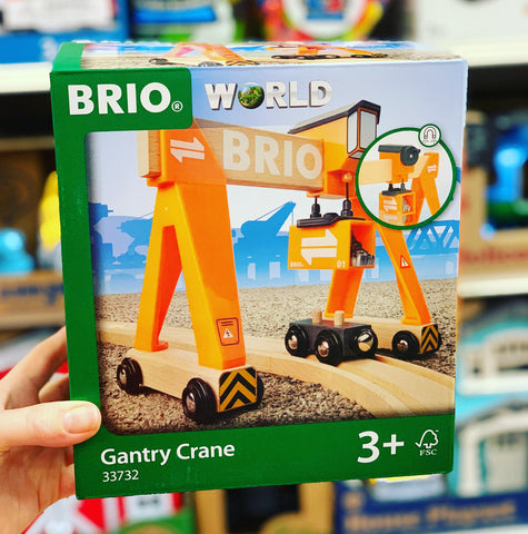 BRIO - Gantry Crane, 4 pieces