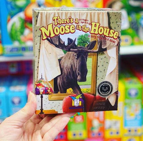 There's a Moose in the House!