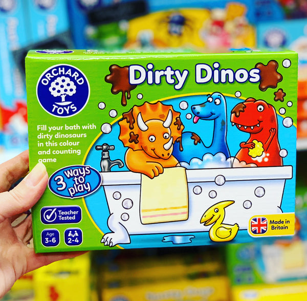 Orchard Toys -  Dirty Dinos
