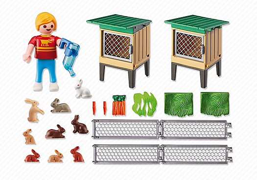 Playmobil – Rabbit Pen With Hutch