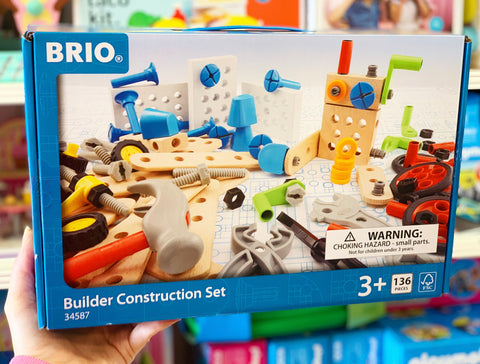 BRIO – STEM Builder Construction Set – 136 pieces