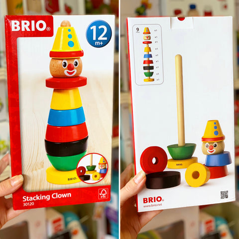 Brio Stacking Clown