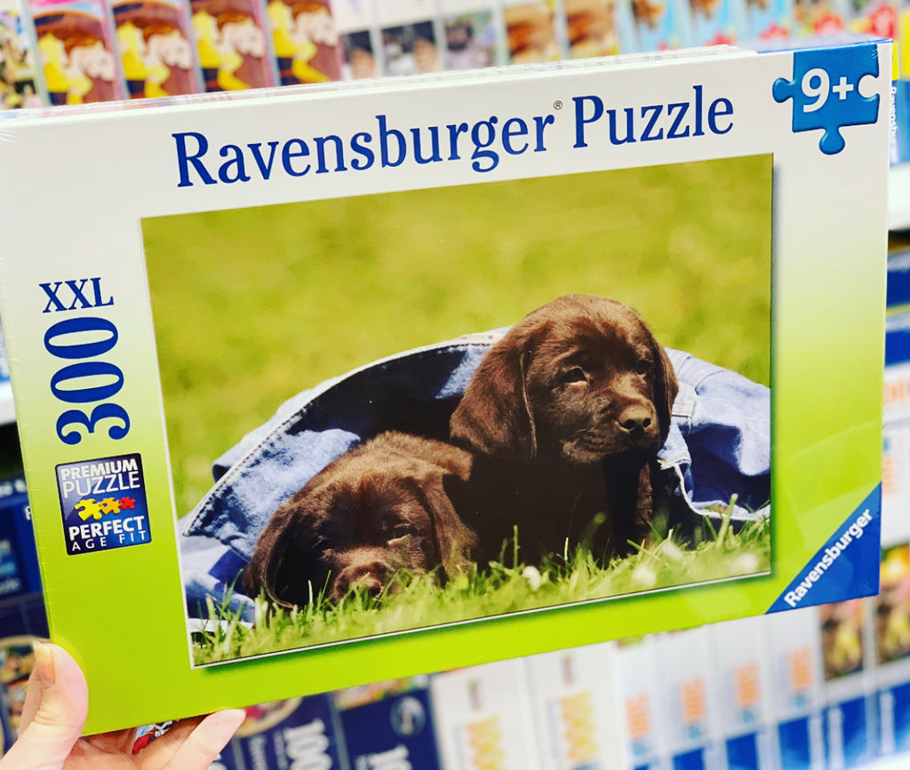 Labrador Pups Ravensburger 300pc