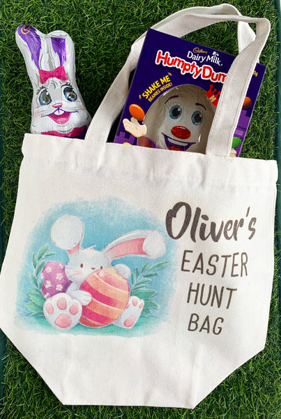 Personalised Easter Hunt Tote Bag