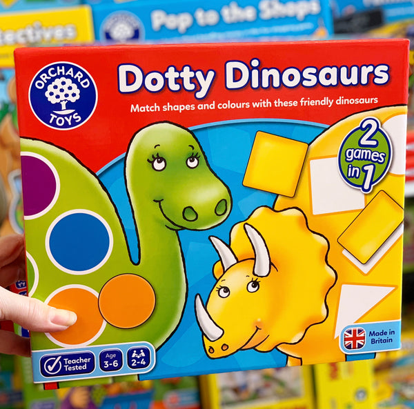 Orchard Game - Dotty Dinosaurs