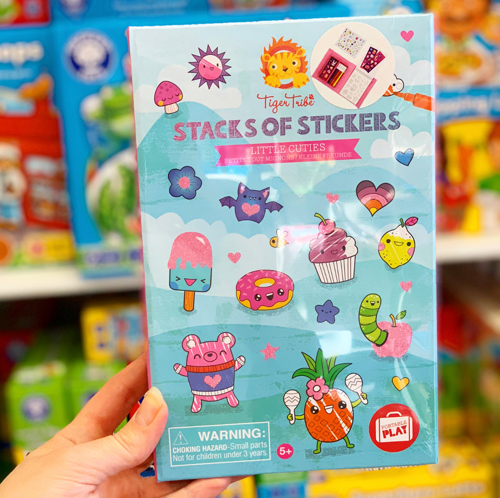 Stacks of Stickers - Little Cuties