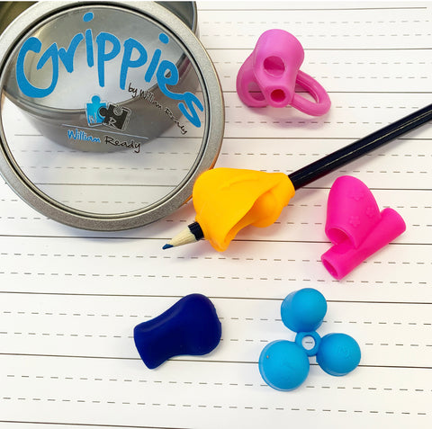 Grippies - 5x Superhero Pencil Grips