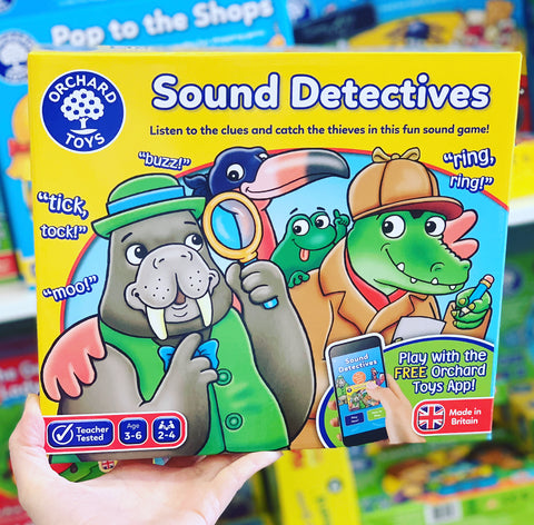 Orchard Toys - Sound Detectives