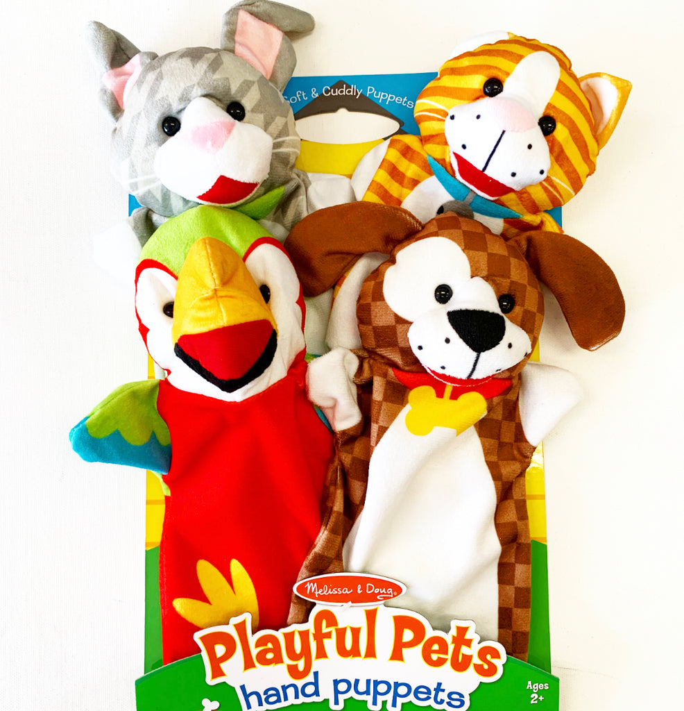 Hand Puppets Farm Animals 4 Pack