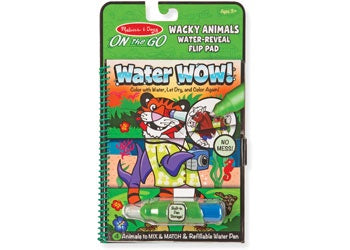 Water WOW! Wacky Animals Flip