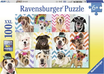 Ravensburger - Doggy Disguise Puzzle 100pc