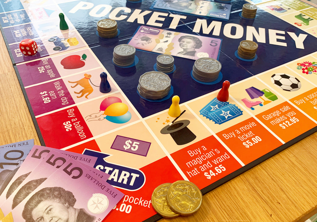 Pocket Money Game - Designed in Melbourne