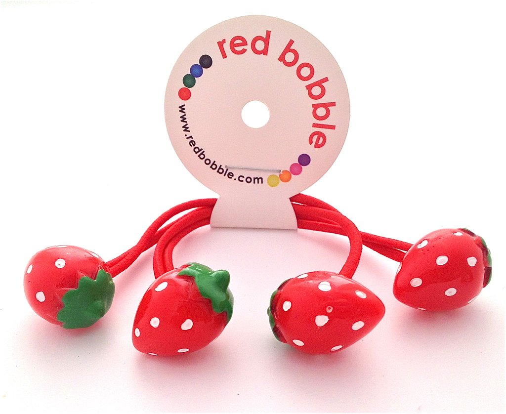 Mini Strawberries Hair Ties