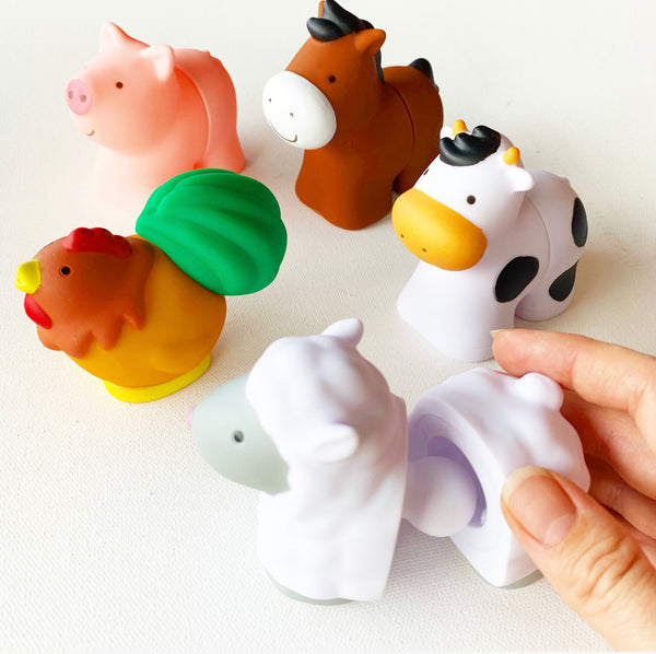 Farm Animals Halves