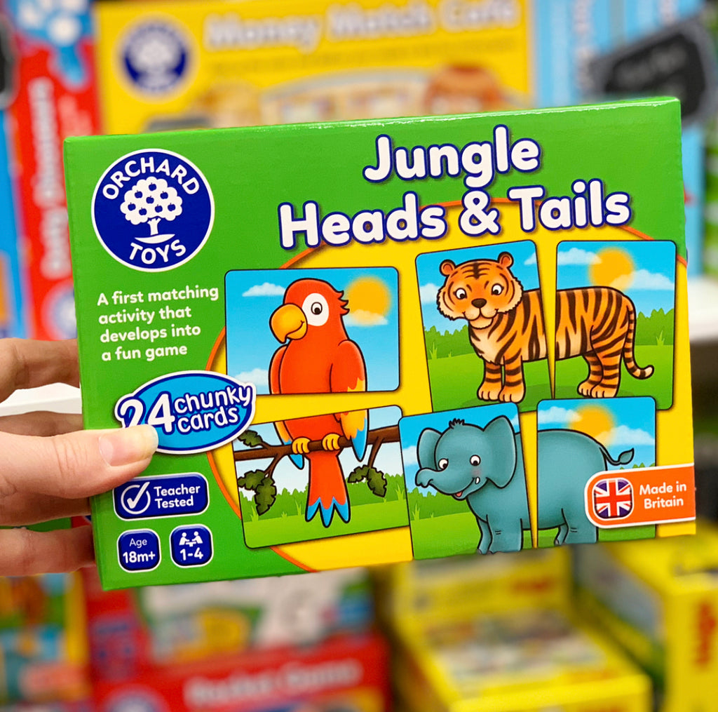 Orchard Toys - Jungle Heads and Tails