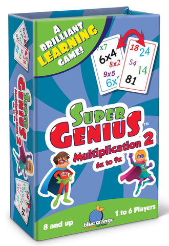 SUPER GENIUS - MULTIPLICATION 2