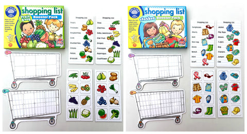 Orchard Toys - Shopping List Booster Packs (sold separately)