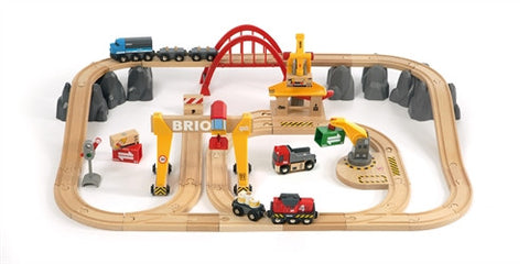 Cargo Railway Delux Train Set - Brio 货运豪华级轨道套装