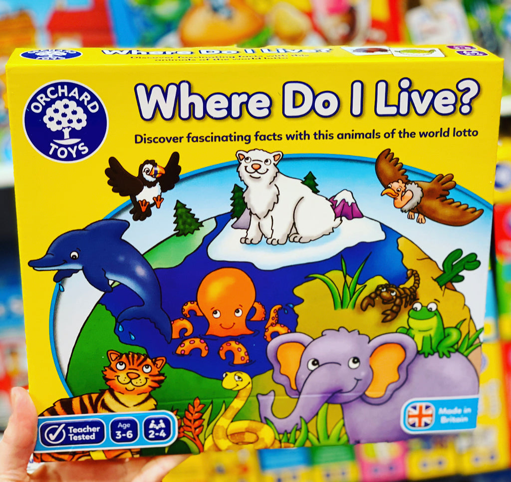 Orchard Toys - Where do I live