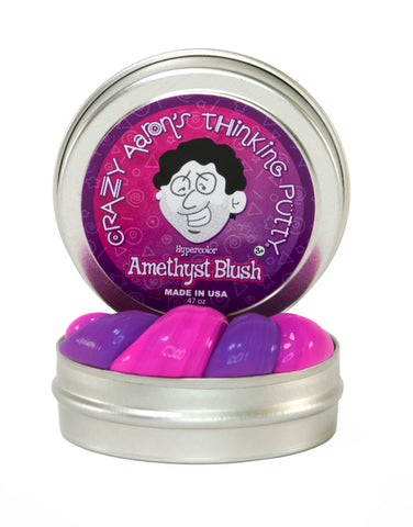 "Amethyst Blush Heat Sensitive Hypercolour Putty 2"" TIN"