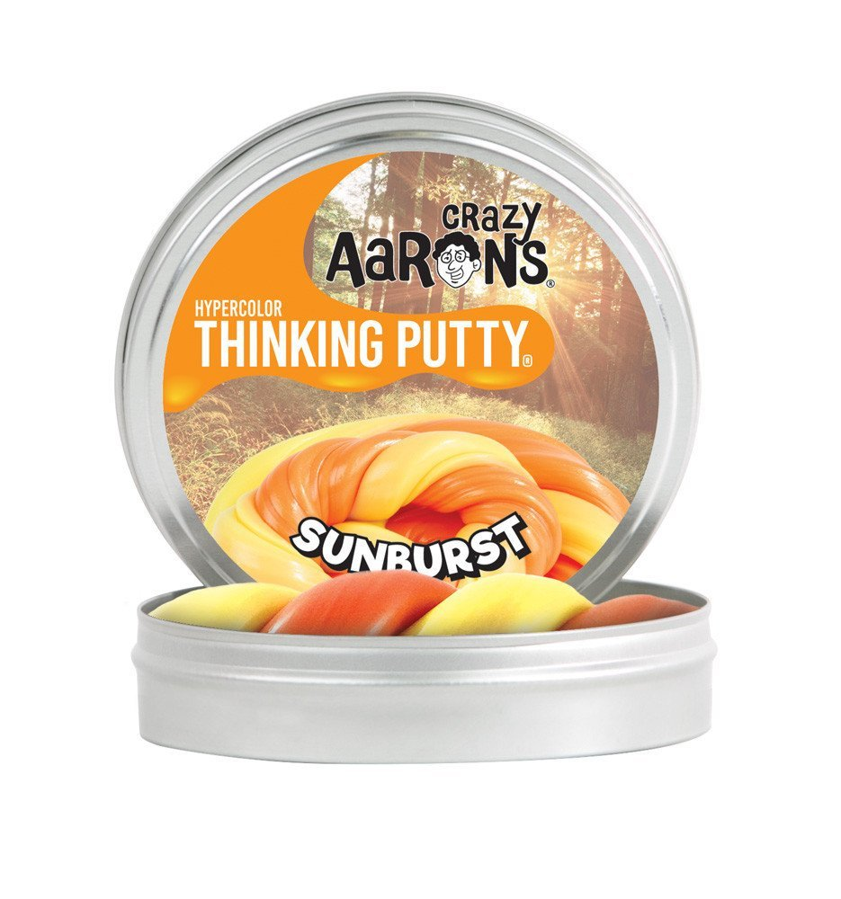 "SUNBURST | HYPERCOLOUR THINKING PUTTY 2"" TIN"