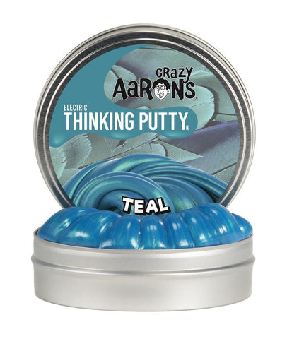 "TEAL | ELECTRIC THINKING PUTTY 2"" TIN"