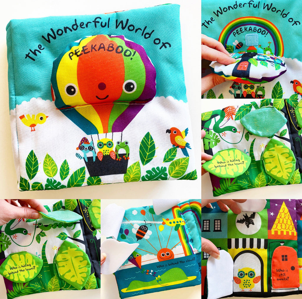 The Wonderful World of Peekaboo! - Cloth Book