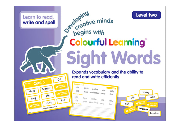 Sight Words Level 2 - Card Games
