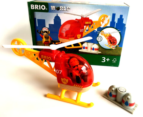 Brio Firefighter Helicopter Brio