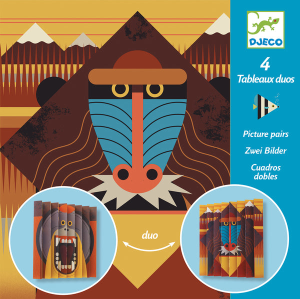 Paper Folding Kit - Wildlife Picture Pairs