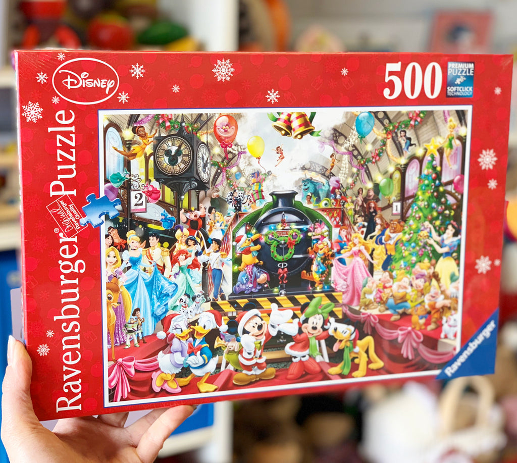 Rburg - Disney Christmas Train Puzzle