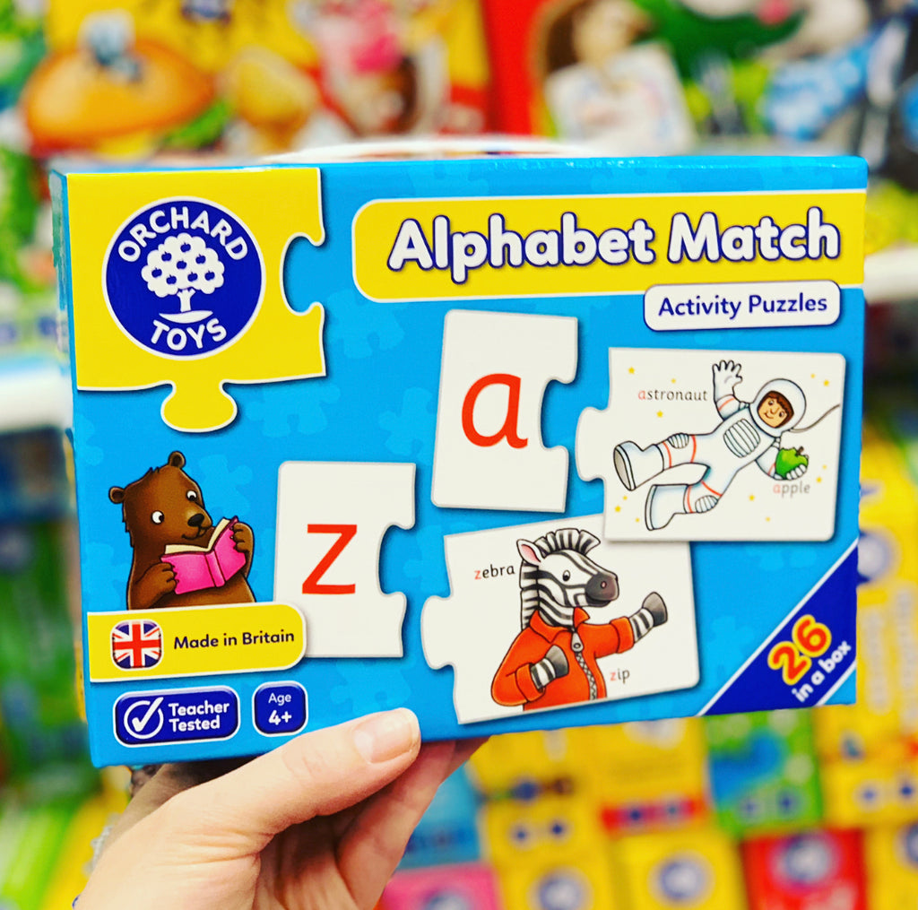 Orchard Jigsaw - Alphabet Match