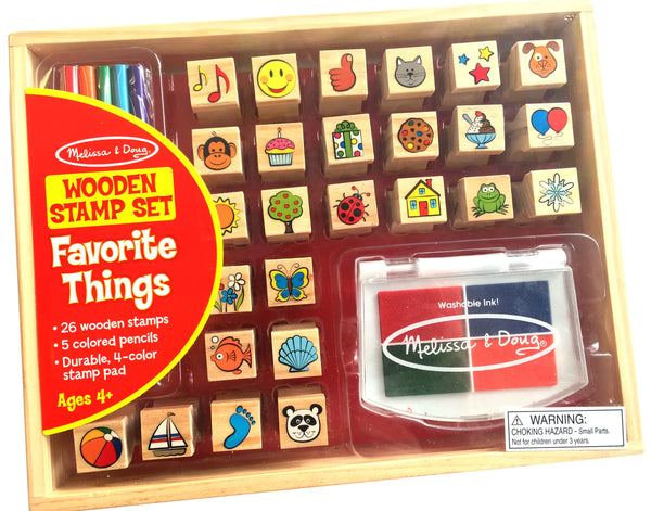 Favorite Objects Stamp Set 最爱物件木制印章