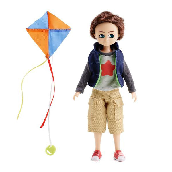 Kite Flyer Finn Boy Doll - Lottie